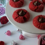 Sweet Carolina Red Velvet Peanut Butter Blossoms