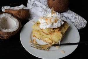 Sweet Carolina Creamy Coconut Bread Pudding
