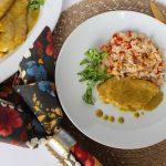Sweet Carolina Mem & Pops Chicken Caribe & Macadamia Nut Rice