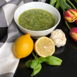 Sweet Carolina Fresh Basil Pesto