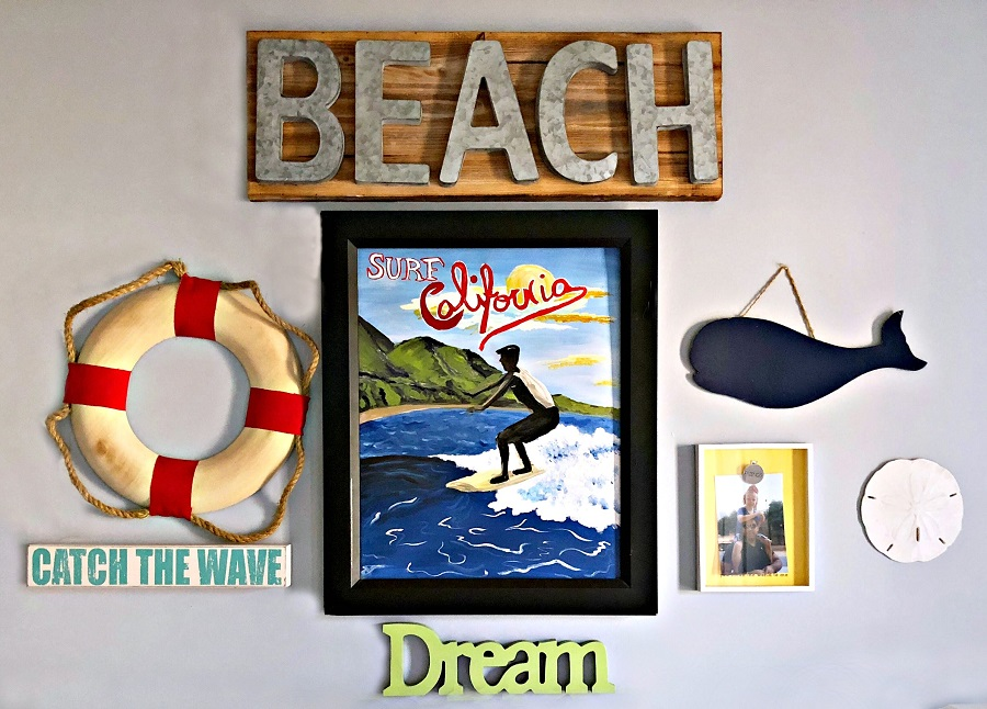 Sweet Carolina Kids Beach Themed Bedroom
