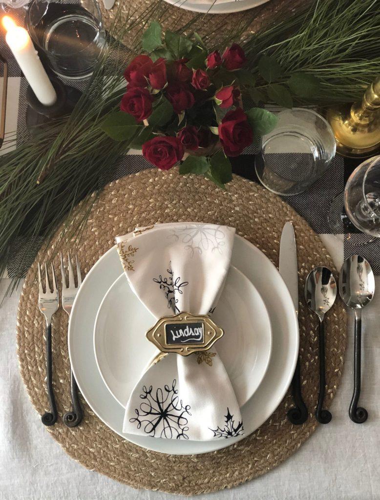 Sweet Carolina Winter Tablescape