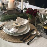 Sweet Carolina Winter Tablescape