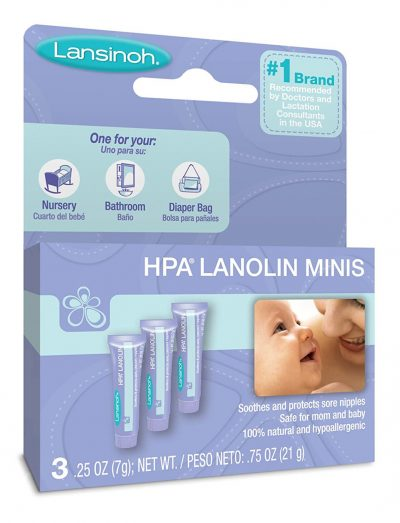 Lansinoh Lanolin Nipplecreams for Breastfeeding